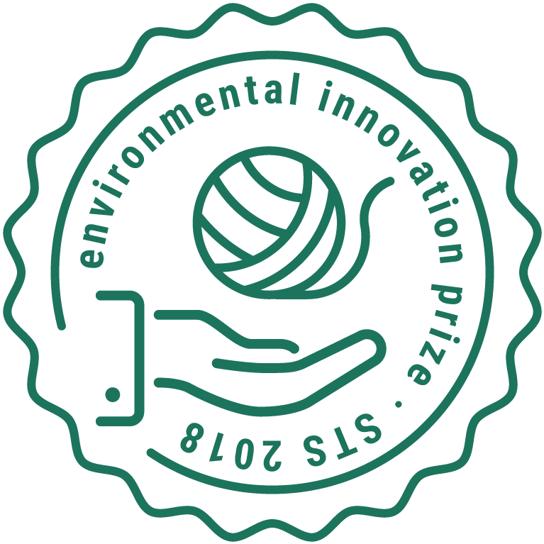 environmental innovation prize 2018, awarded during the Sustainable Textile School in Chemnitz, Germany